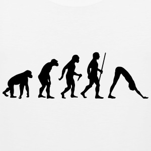 Evolution - Yoga T-Shirts - Männer Premium Tank Top