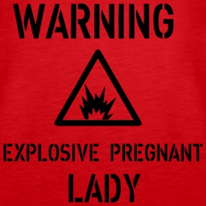 Warning Tops - Women's Premium Tank Top