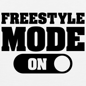 Freestyle Mode (On) T-shirts - Mannen Premium tank top