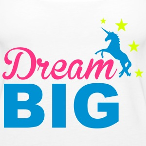 Dream Big Topy - Tank top damski Premium