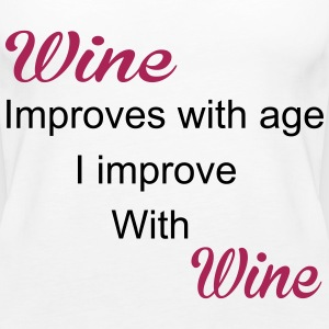 Wine Tops - Women's Premium Tank Top