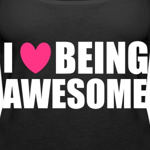 Being Awesome Top - Canotta premium da donna
