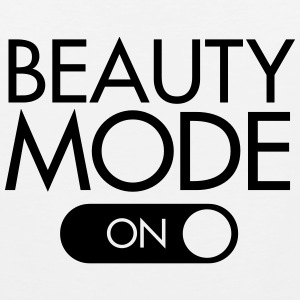 Beauty Mode (On) T-shirts - Mannen Premium tank top