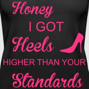 Heels Tops - Frauen Premium Tank Top