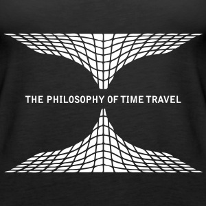 philosophy time travel Tops - Women's Premium Tank Top