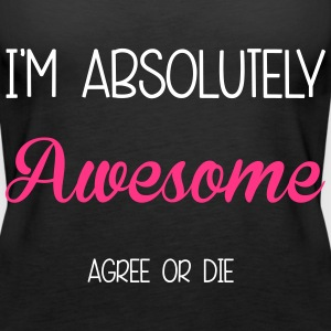 I'm Awesome Tops - Vrouwen Premium tank top