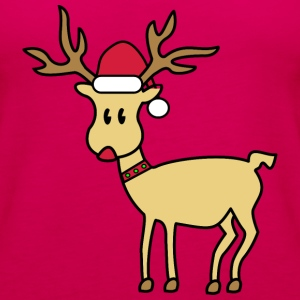 rudolph the red nosed reindeer Topy - Tank top damski Premium
