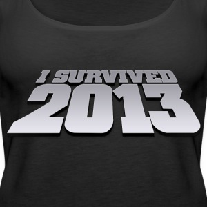 i survived 2013 Tops - Camiseta de tirantes premium mujer