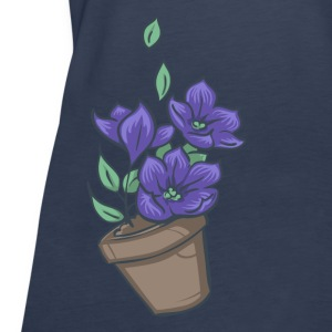 Bowl of petunias Tops - Vrouwen Premium tank top