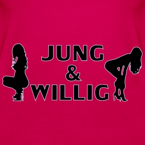 Jung & Willig Tops - Frauen Premium Tank Top