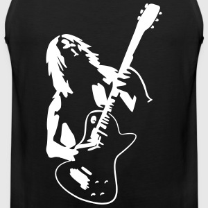 Hard Rock Musik Tribal  - Männer Premium Tank Top