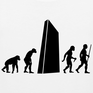 Evolution - Monolith T-Shirts - Men's Premium Tank Top