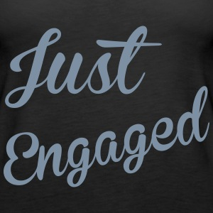 Just Engaged Tops - Camiseta de tirantes premium mujer