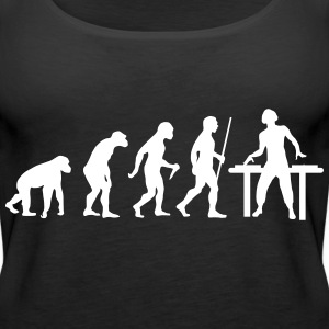 Evolution DJ Topy - Tank top damski Premium