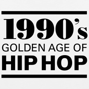 1990´s - Golden Age Of Hip Hop T-Shirts - Männer Premium Tank Top