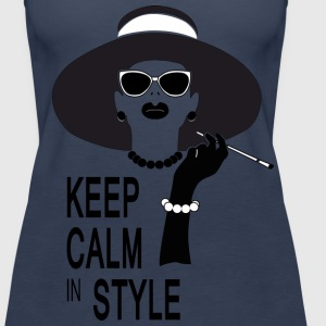 keep calm in style Tops - Camiseta de tirantes premium mujer