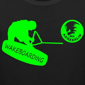 Wakeboarding T-Shirts - Men's Premium Tank Top