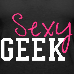Sexy Geek Tops - Frauen Premium Tank Top