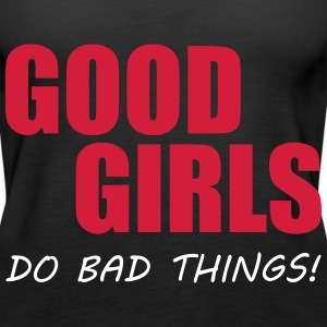 Good Girls Tops - Camiseta de tirantes premium mujer