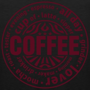 Coffee lover T-Shirts - Men's Premium Tank Top
