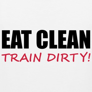 Train Dirty T-shirts - Premiumtanktopp herr