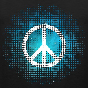 Peace Symbol Love Harmony Freedom Dots Summer T-Shirts - Men's Premium Tank Top
