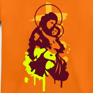 Virgin Mary with Child Shirts - Teenage Premium T-Shirt