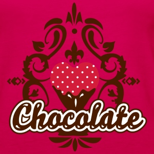 Chocolate Design  Tops - Women's Premium Tank Top