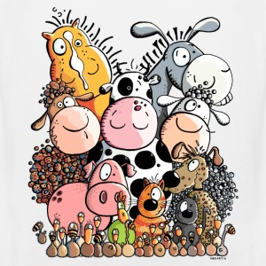 funny farm animals T-Shirts - Men's Premium Tank Top