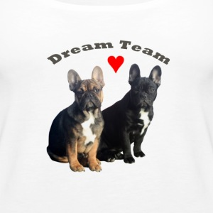 Französische Bulldoggen Top Dream Team - Frauen Premium Tank Top