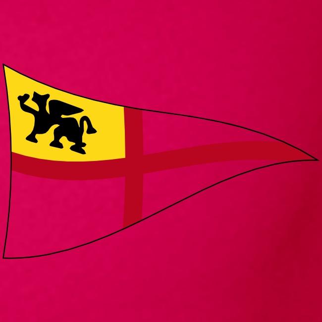 Frauen Tank Top, ROYC klein/mehrfarbig Flock-Druck