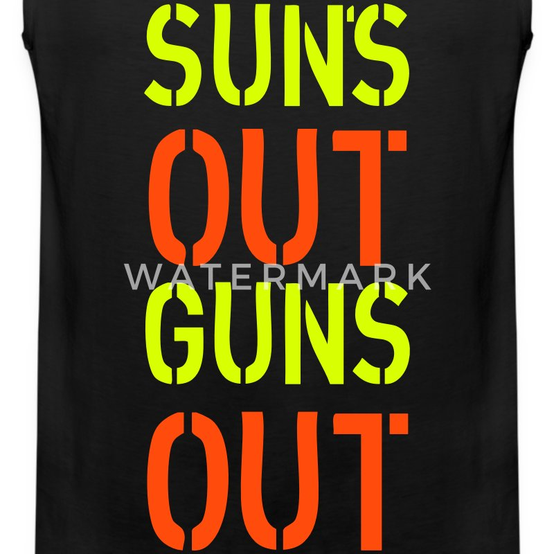 Sun's Out T-shirts - Herre Premium tanktop