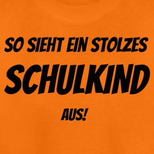 stolzes Schulkind T-Shirts - Teenager Premium T-Shirt