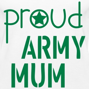 Army Mum Tops - Women's Premium Tank Top