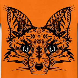 A fox head  Shirts - Kids' Premium T-Shirt