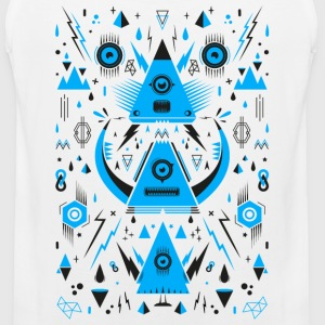 Abstract Triangle Transformation T-Shirts - Männer Premium Tank Top