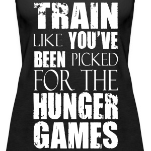 Train Like You've Been Picked for the Hunger Games Tops - Women's Premium Tank Top