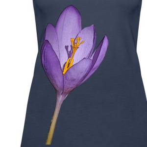 Lilac crocus Tops - Women's Premium Tank Top