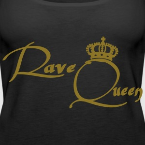 Rave Queen Topper - Premium singlet for kvinner