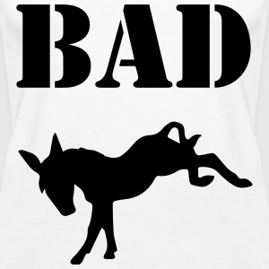 Bad Ass Tops - Women's Premium Tank Top