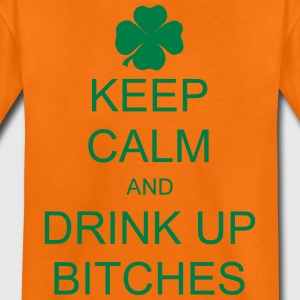 keep calm and drink up bitches T-shirts - Teenager premium T-shirt