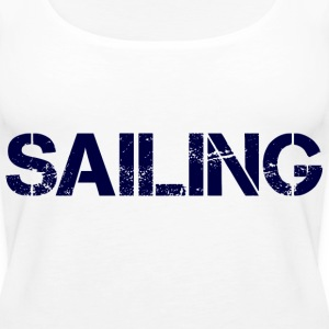 Sailing Navy Tops - Frauen Premium Tank Top