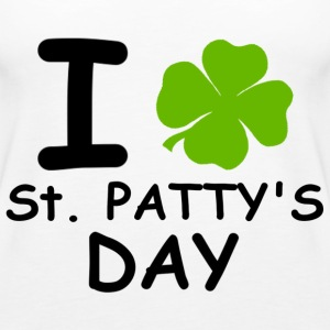 I st patty's day Topper - Premium singlet for kvinner