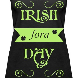 irish fora day Topper - Premium singlet for kvinner