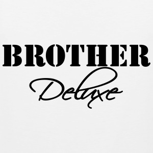 Brother Deluxe T-shirts - Mannen Premium tank top