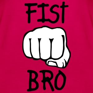fist bro 2c Tops - Women's Premium Tank Top