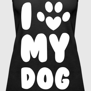 Love My Dog Tops - Women's Premium Tank Top