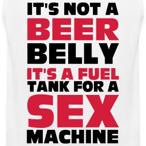 Beer Belly T-shirts - Mannen Premium tank top