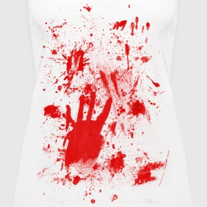 Splashes of blood / blood Smeared Tops - Women's Premium Tank Top