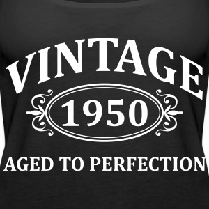 Vintage 1950 Aged to Perfection Tops - Women's Premium Tank Top